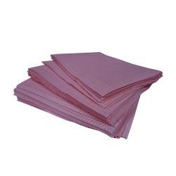 dental towels onderleggers roze