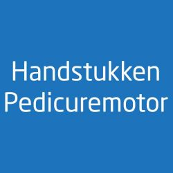 Handstukken Pedicuremotor